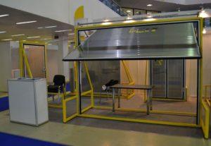 Выставка. Холодильные ворота в Москве 2012 год